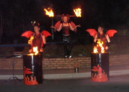 cisco party fire
