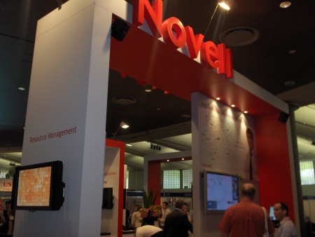 Novell's stand