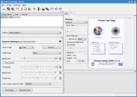 The Epson AcuLaser CX11NF Colour Laser MFD with Linux |