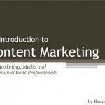 Content Marketing Report cover