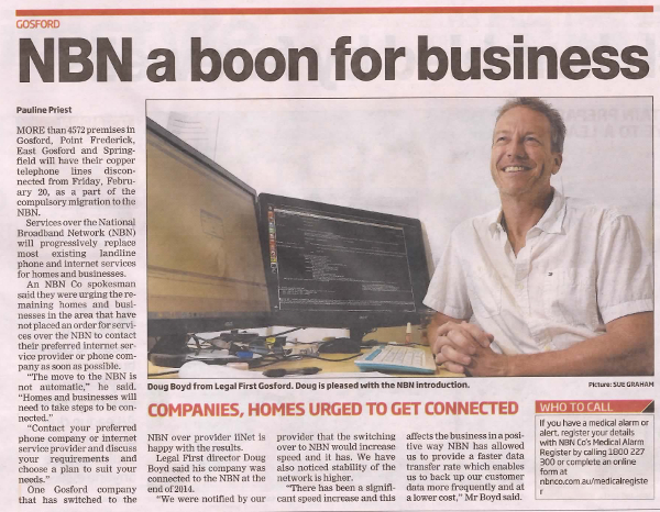 One happy NBN and Ubuntu user from Gosford, NSW
