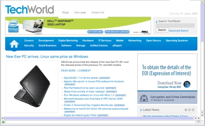 techworld_home_page